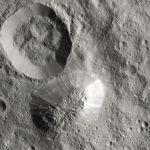 Cratère sur la Lune