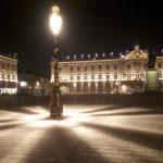 La place Stanislas à Nancy de nuit