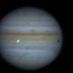 L'impact vu par le télescope T62 à St-Véran