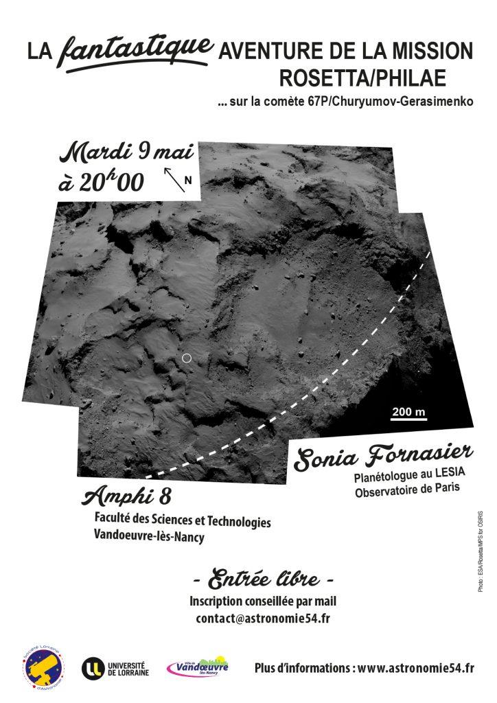 Affiche La fantastique aventure de Rosetta/Philae