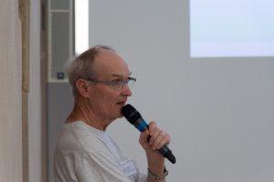 Pierre Haydont présente une conférence lors de la nuit des étoiles 2017 à la colline de Sion