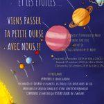 Affiche stage Petite Ourse octobre 2019