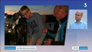 Présentation de la Nuit des étoiles 2019 sur France 3