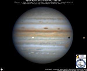 Impact sur Jupiter du 13 septembre 2021