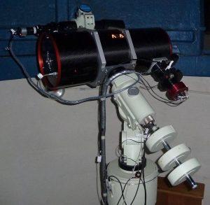 Le télescope Newton ASA 250mm de la SLA
